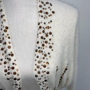 ANTHRO KNITTED & KNOTTED CARDIGAN - XS - NWT